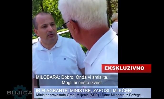ministar pravosuđa orsat miljenić dane milobar