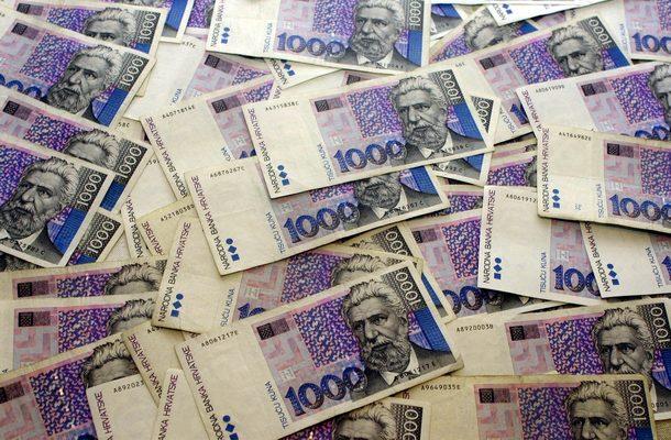 krivotvorene novčaice tisuću kuna