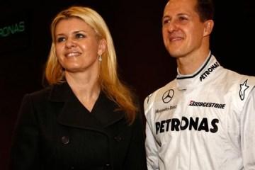 Corinna i Michael Schumacher