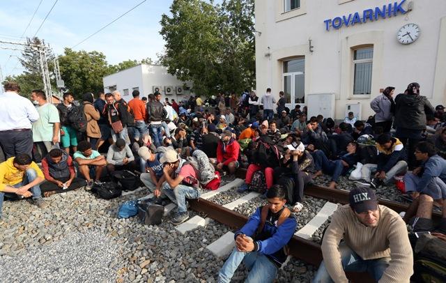 imigranti izbjeglice tovarnik