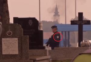 imigranti policija pravoslavno groblje