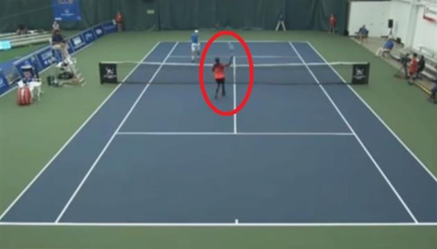 tenis promašaj