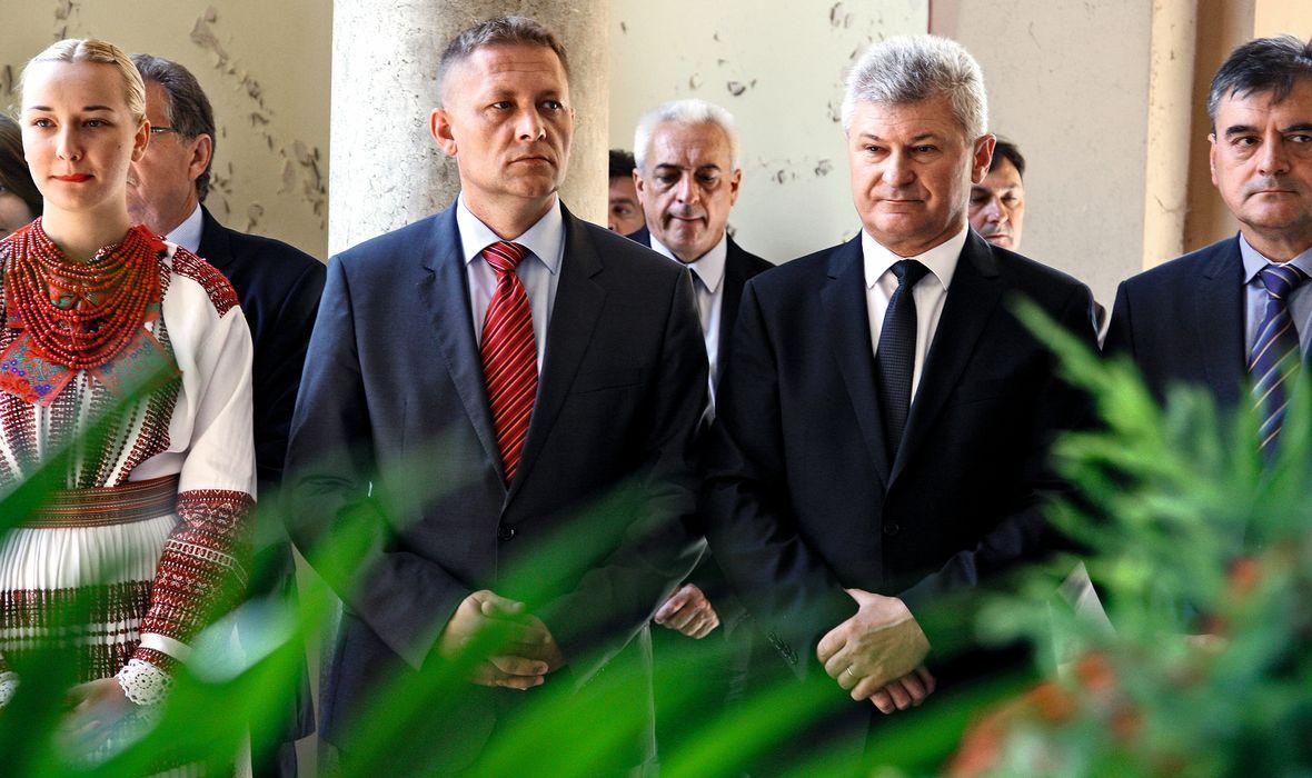 HSS: Krešo Beljak i Branko Hrg