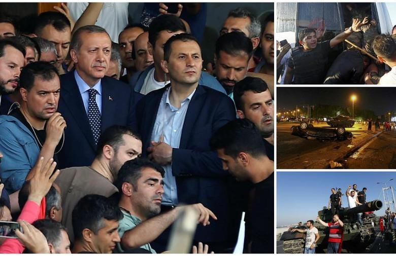 turska vojni udar erdogan