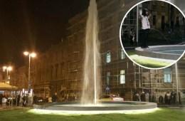 milan bandić, britanac, fontana