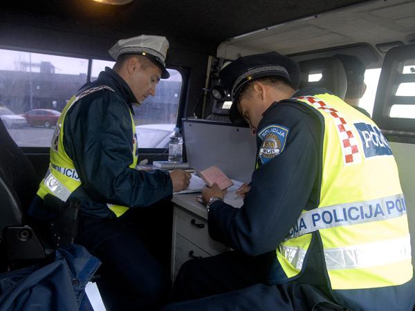 prometna policija, vozačka dozvola