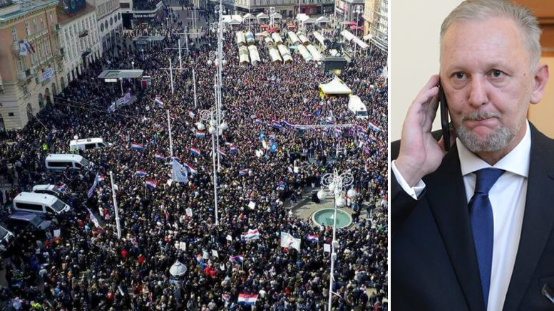 prosvjed, policija, božinović, istanbulska konvencija, Nacionalni sindikat policije