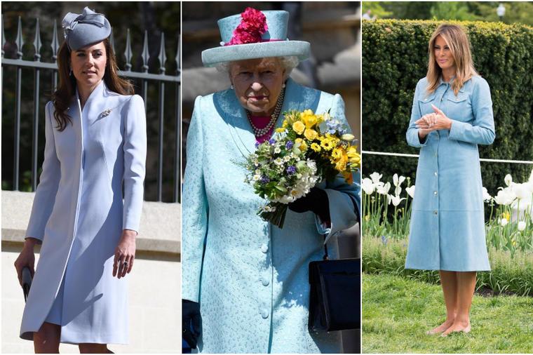 Зошто најмоќните жени во светот за Велигден носеа иста боја: Што порачува пастелно сината боја?