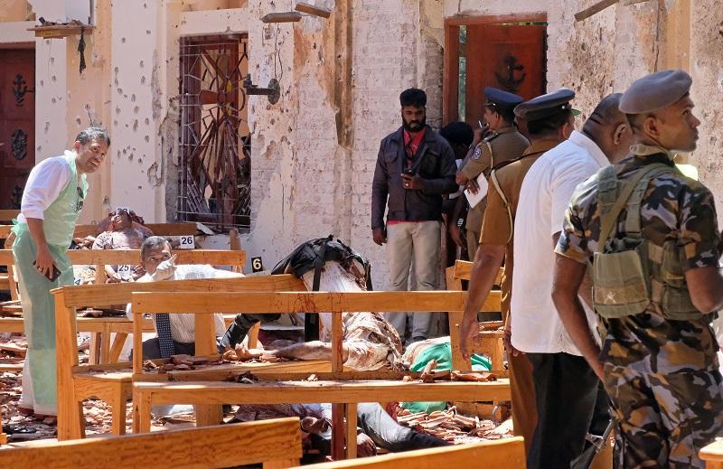 ПОГРЕШНА ПРЕСМЕТКА: Бројот на жртвите во Шри Ланка намален