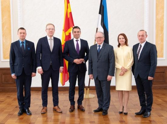 Димитров: Имаме недвосмислена поддршка од Естонија за нашата европска иднина