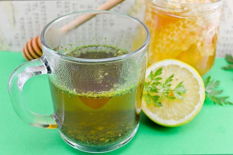 Направете сами домашен чај за слабеење