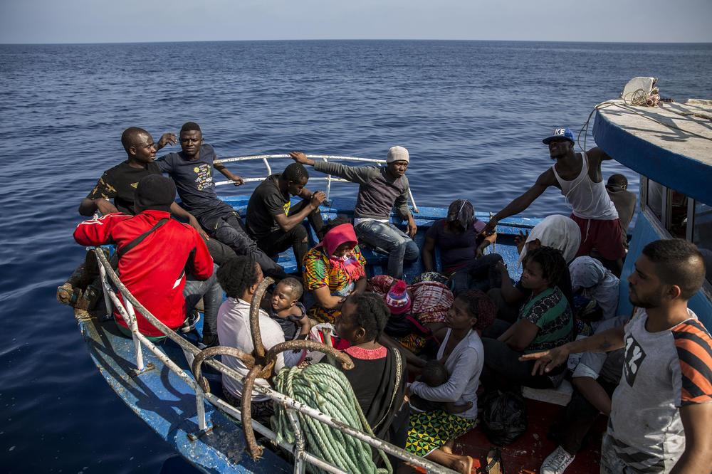 Спречен влез на 150 мигранти од Либија во Европа