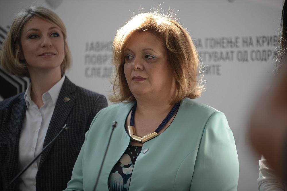 Катица Јанева во вторник на распит кај Русковска