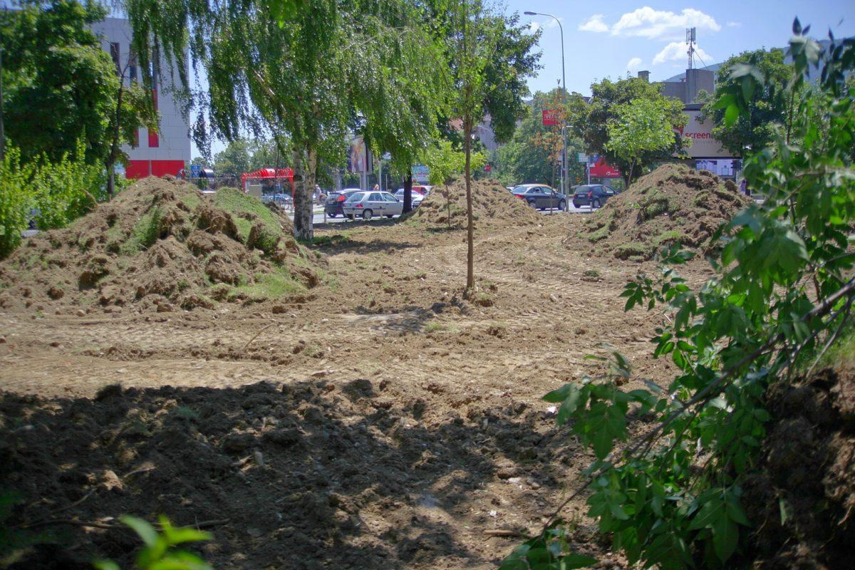 Осум запуштени јавни површини ќе станат зелени плоштади