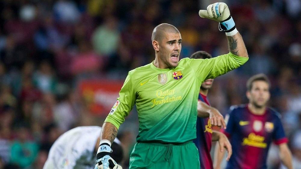 Виктор Валдес се врати во Барселона