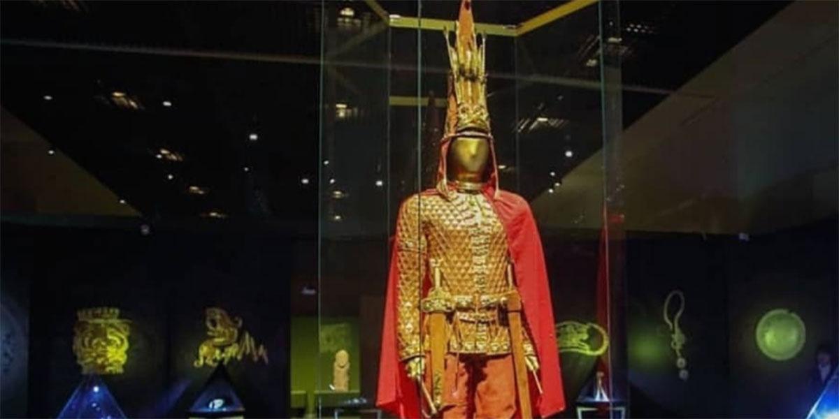 Во Археолошкиот музеј отворање на изложбата со Златниот човек од Казахстан