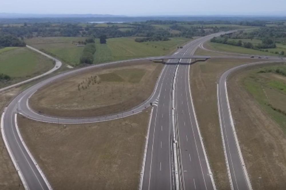 """Како изгледа новиот автопат """"Милош Велики"""" во Србија (ВИДЕО)"""