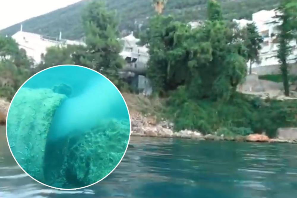 ХОТЕЛ ВО ЦРНА ГОРА испушта фекалии во море! Погледнете што снимија мештаните!