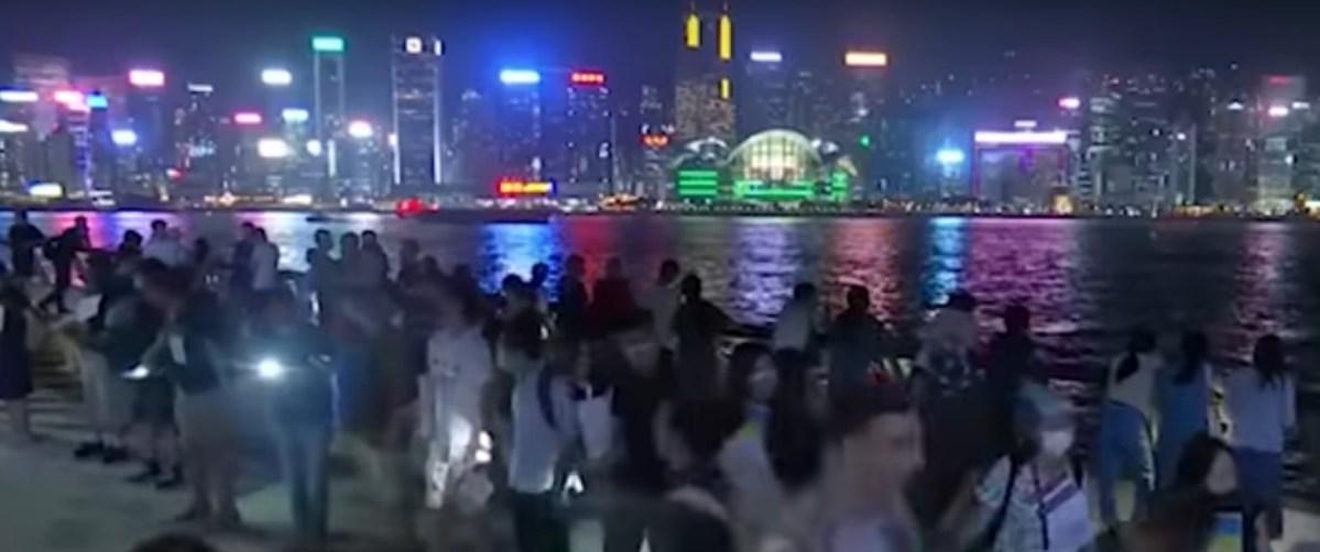 Уапсени  студенти во немирите во Хонг Конг