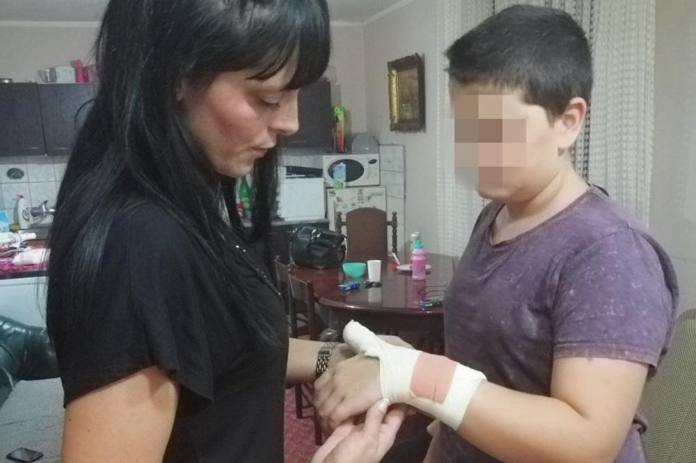 НАЈБРУТАЛНО ВРСНИЧКО НАСИЛСТВО ВО СРБИЈА: На син ми му скршија рака затоа што не сакал да се тепа!