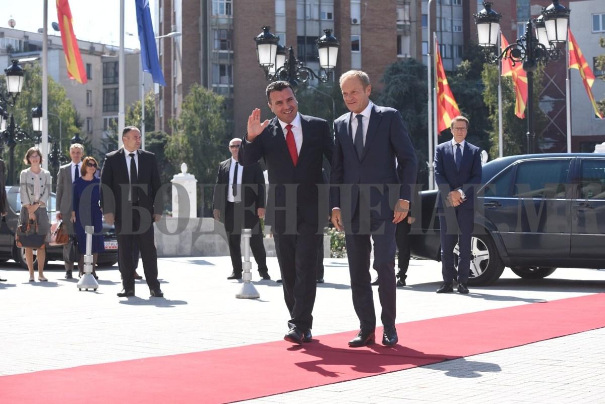 Македонија ги исполни условите, на ред е ЕУ