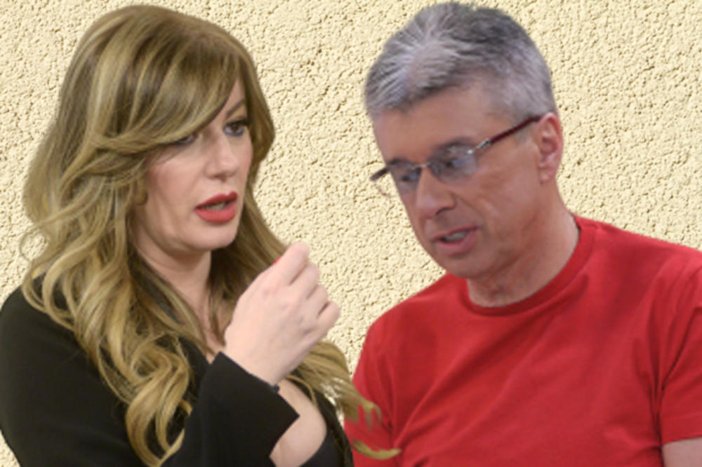 """""""Слушај ти, жениште, седи доле кога јас велам""""! Саша Поповиќ и Вики Миљковиќ се направија """"лом"""": """"Поповиќ, ти си неписмен""""!"""