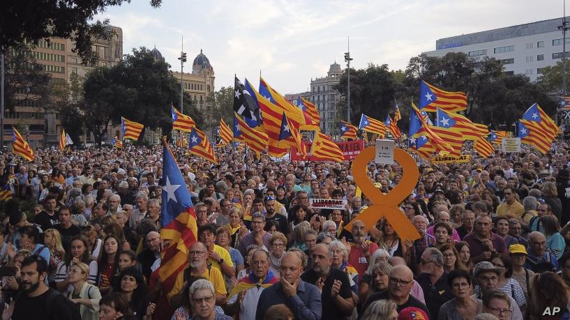 Шпанската влада не сака да слушне за преговори со Каталонците