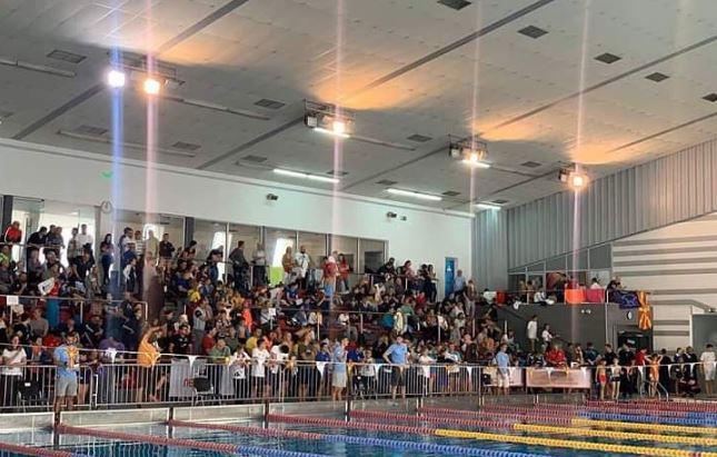 """Блажевска Еминова со три рекорди на пливачкиот митинг """"13 Ноември"""""""