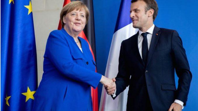 Останува нејасно што се договорија Меркел и Макрон за датумот за преговори на Македонија