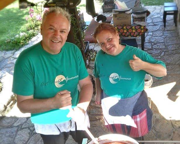 На слоештички кавијар кај Ирена и Сергеј Андреевски