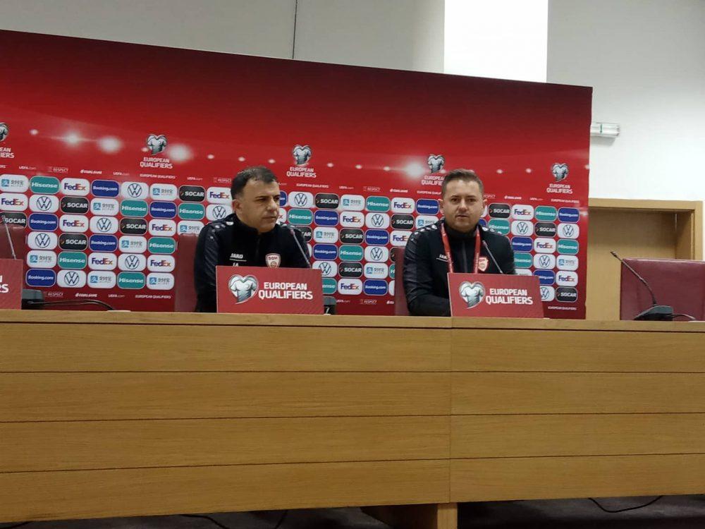 Ангеловски: Сакаме на ЕП 2020, само комплетни можеме да го победиме Косово!