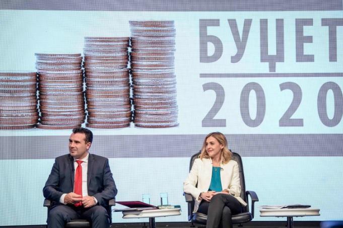 Ангеловска: Позитивен придонес за буџетот ќе даде зголемувањето на минималната плата