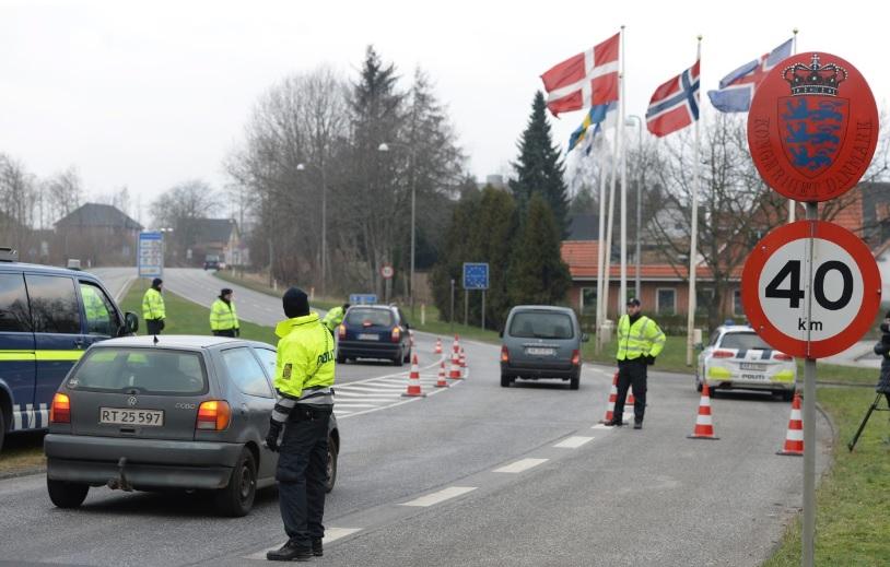 Данска повторно воведува гранични контроли со Шведска