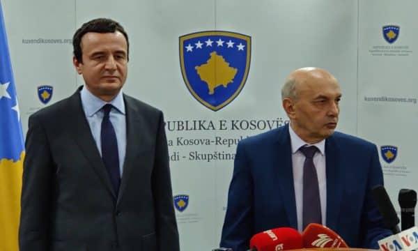 Курти и Мустафа одржуваат состанок за формирање на нова косовска влада