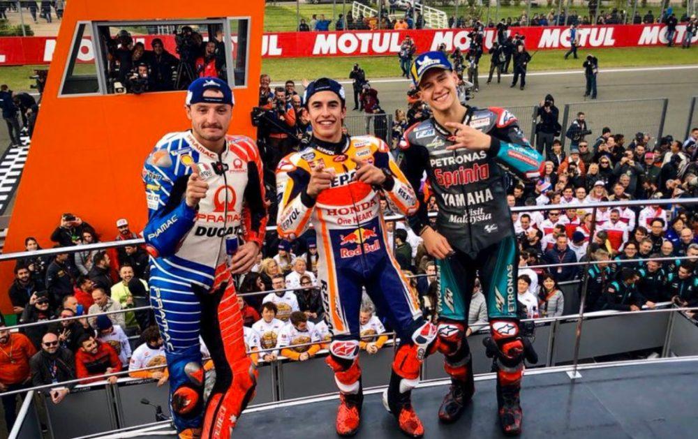 Шампионско славје на Маркес во Валенсија