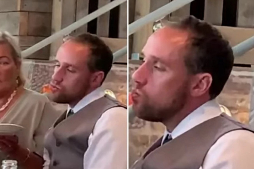 Младоженец ТОЛКУ СЕ НАПИЛ на сопствената свадба што сватовите МОРАЛЕ ДА ЈА СНИМАТ ОВАА СЦЕНА: Тештата седнала покрај него и ЦИРКУСОТ ЗАПОЧНАЛ