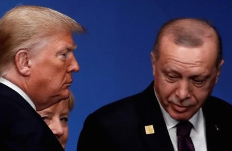 """""""Плодна"""" средба помеѓу Ердоган и Трамп во Лондон"""