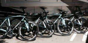 Cycling Team Omega Pharma Quickstep's bicycles