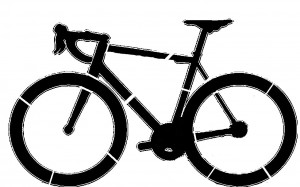 Cycling Pumpkin Carving Stencil