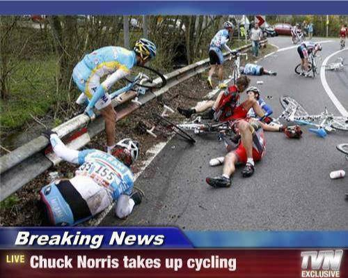 OK, I couldn't resist this one (courtesy cyclinghumor.com)