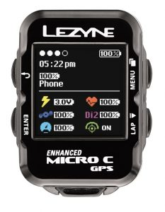 lezyne enhanced color micro gps
