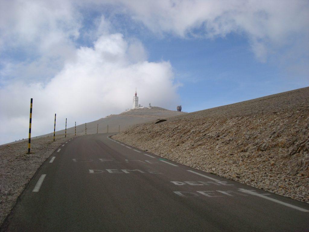 Mont ventoux climb