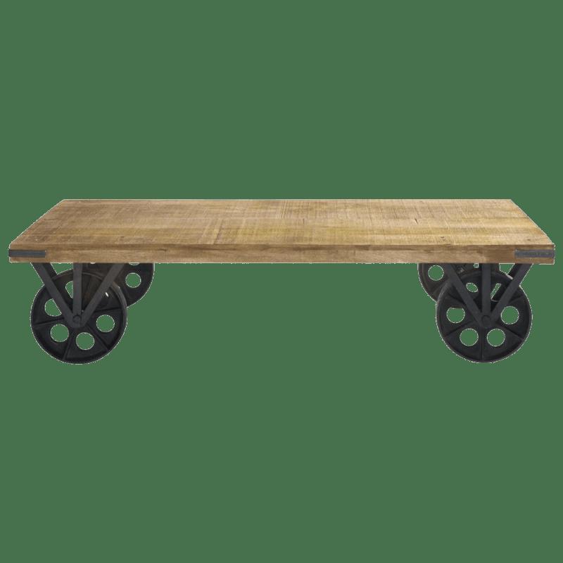 table basse a roulettes maisons du monde
