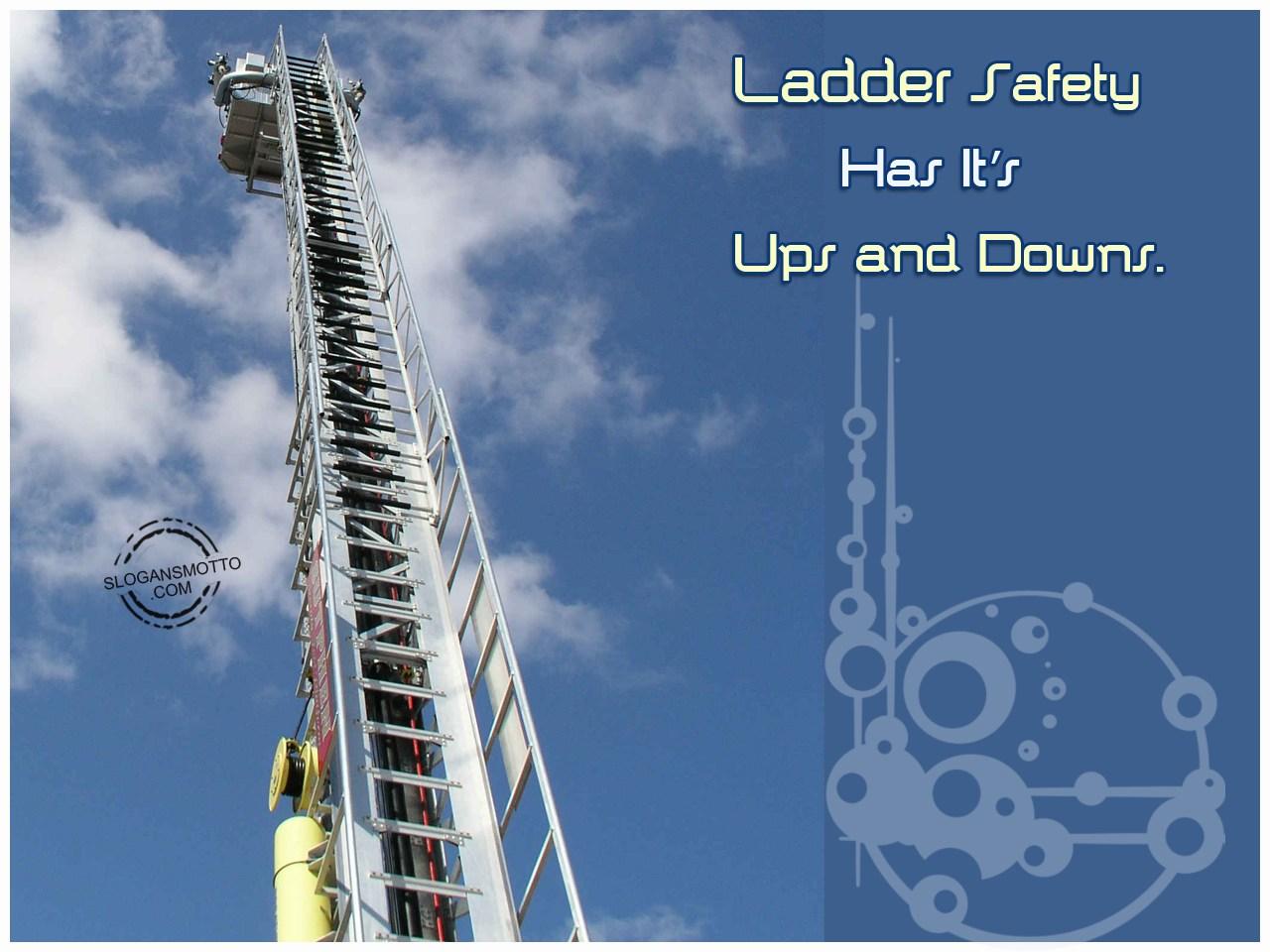 Funny Ladder Safety Slogans
