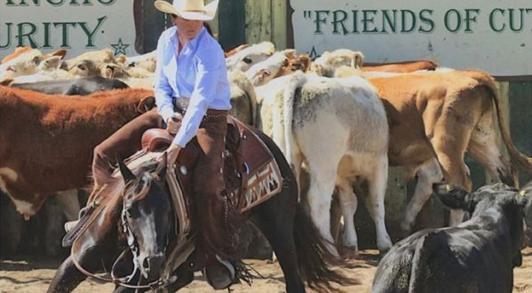 Mary Kate Huntsberger - Cutting tips from a seasoned Non-Pro Competitor | SLO Horse News