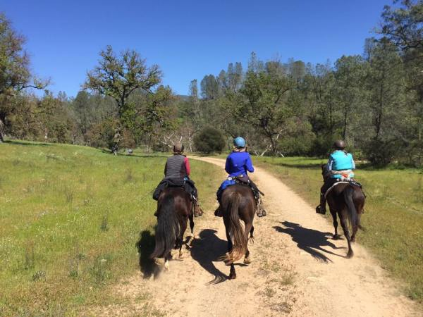 Overnight Trail Ride Adventure to the American Canyon Camp   SLO Horse News