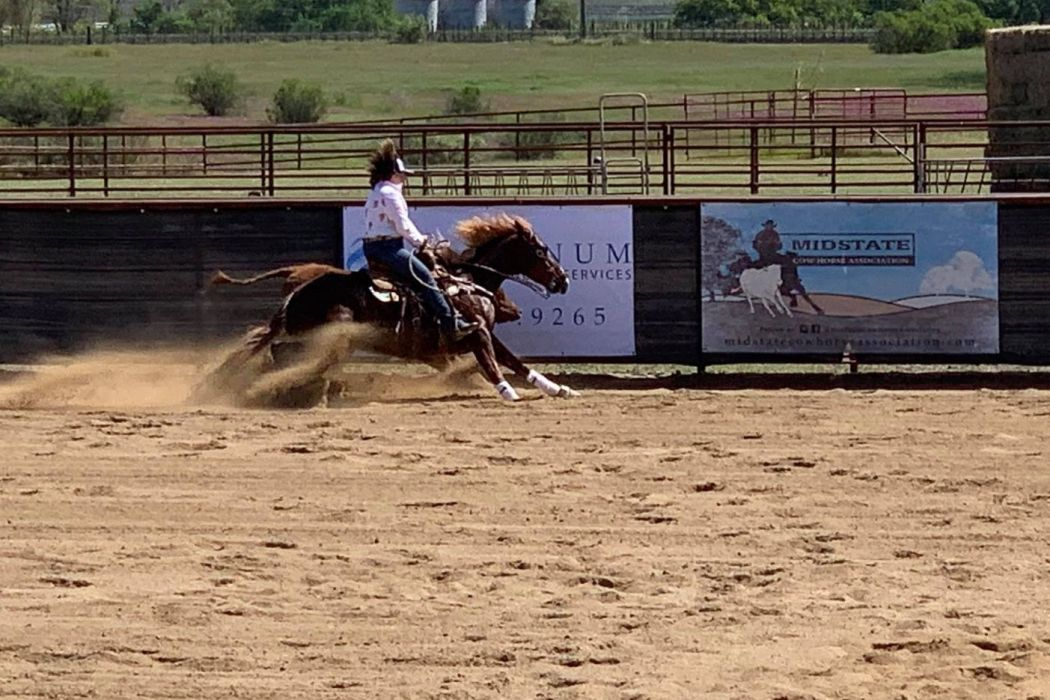 Mid-State Cow Horse Association Brings Reined Cow Horse Competitions Back to Paso Robles   SLO Horse News