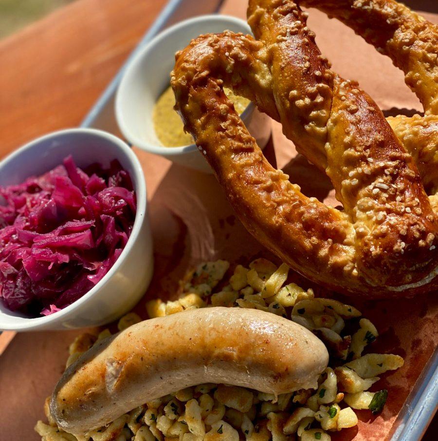 platter of German food