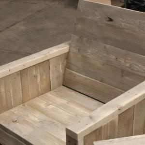 Steigerhout stoel