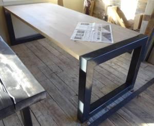 Exclusief eiken tafel